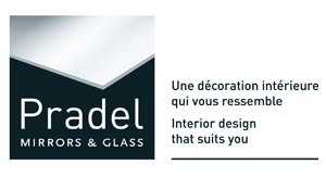 PRADEL mirror and glasses