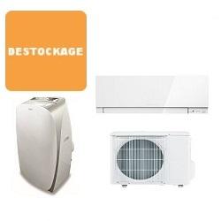climatisation et pompe chaleur air air en promotion et d stockage domotelec. Black Bedroom Furniture Sets. Home Design Ideas