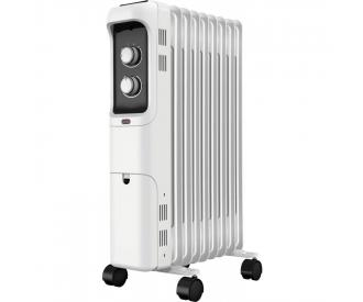 Thermostat num/érique programmable DeltadoreTM Radiateur /électrique en aluminium gris 1500 W /à faible consommation Blanc chauffage mural en aluminium jusqu/à 18 m/²