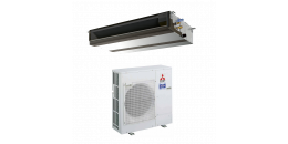 MITSUBISHI ELECTRIC Climatisation Gainable Flexible réversible Power Inverter - Pead-m - R410A