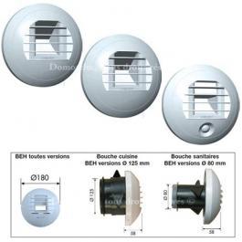 Unelvent Bouches D Extraction Hygroreglables Ventilation Hygroreglable