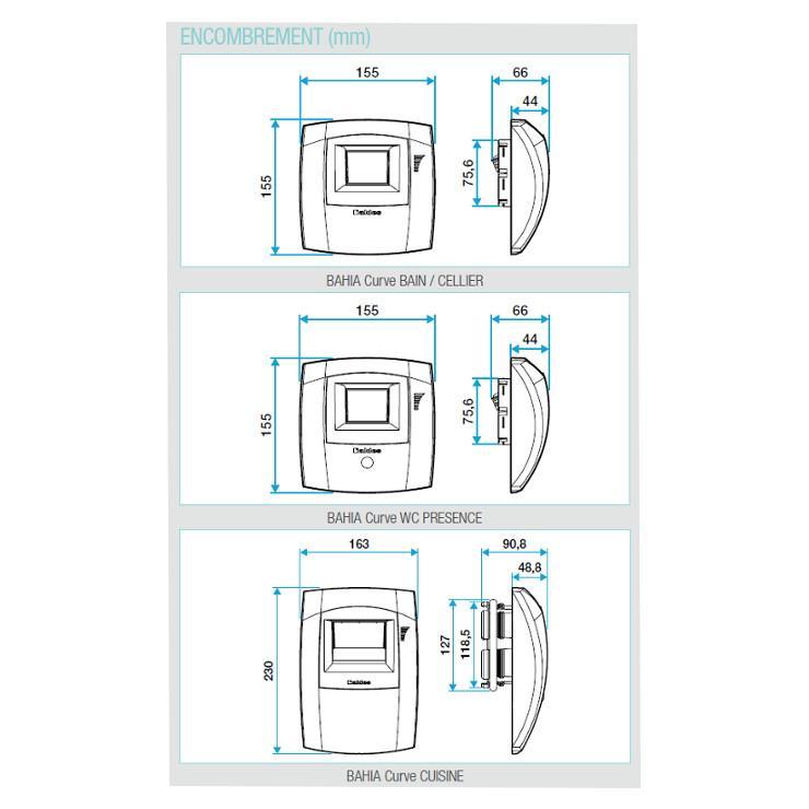 Aldes Bouches D Extraction Pour Gamme Hygroreglable Easyhome