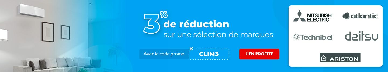 Promo code CLIM3