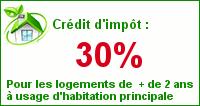 Credit impôt 30