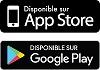 Disponible  sur App Store et Google Play.