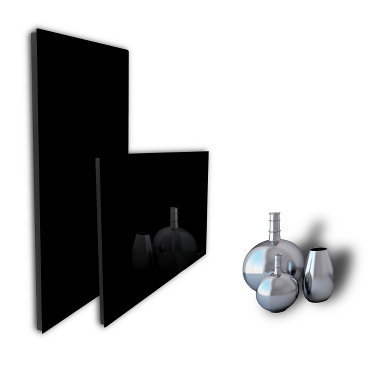 Radiateur design marque Domotelec, modèle DomoGlass