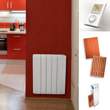 radiateur electrique inertie et chaleur douce. Black Bedroom Furniture Sets. Home Design Ideas